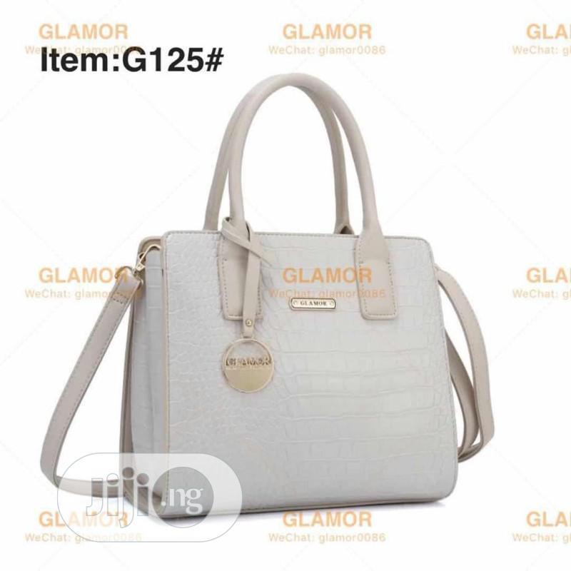 New Quality White Female Turkey Leather Handbag