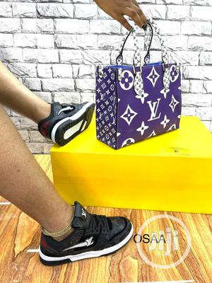 Purple Louis Vuitton Female Leather Handbag   Bags for sale in Lagos State, Isolo