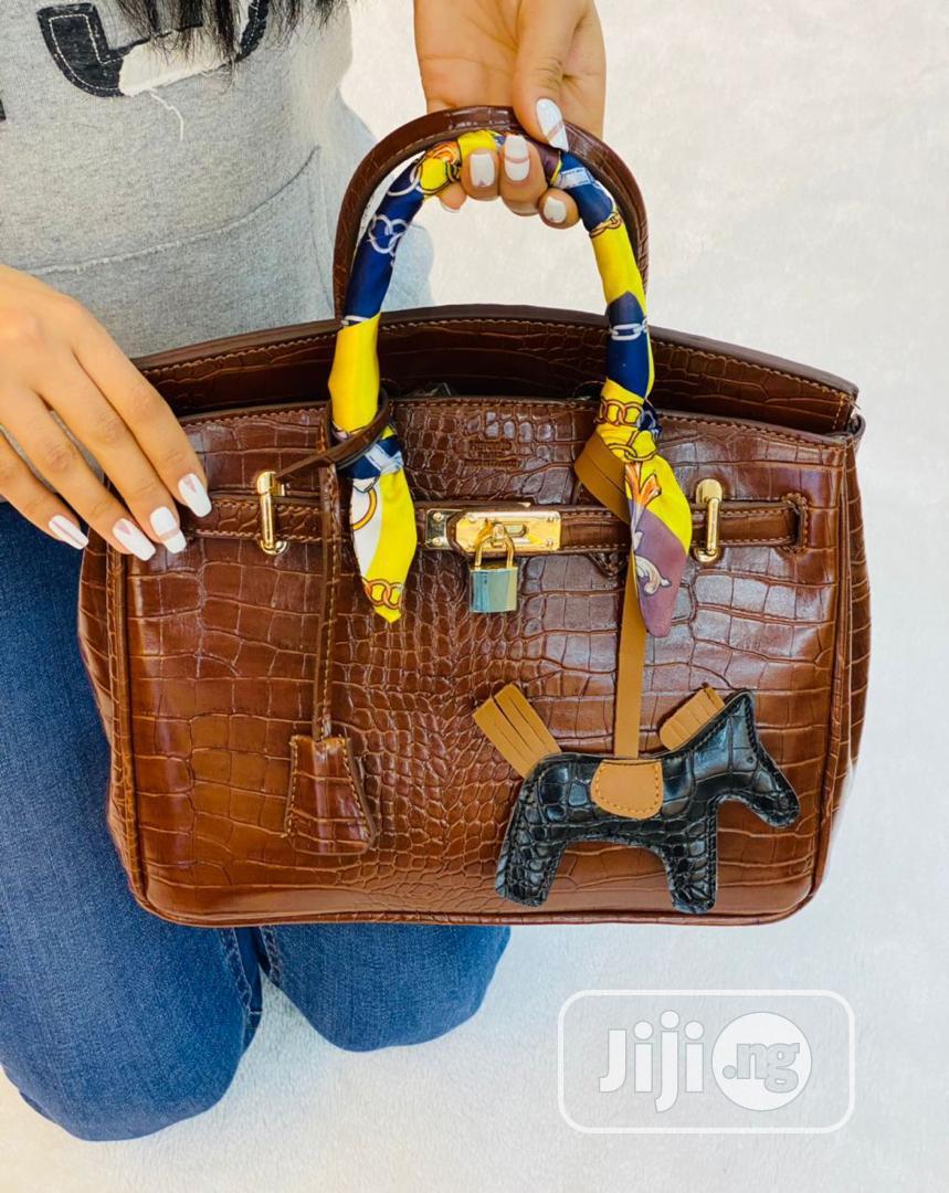 Classic Brown Female Turkey Handbag