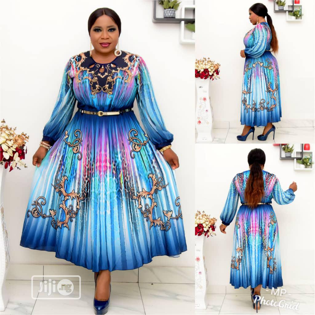 New Quality Female Long Flare Gown