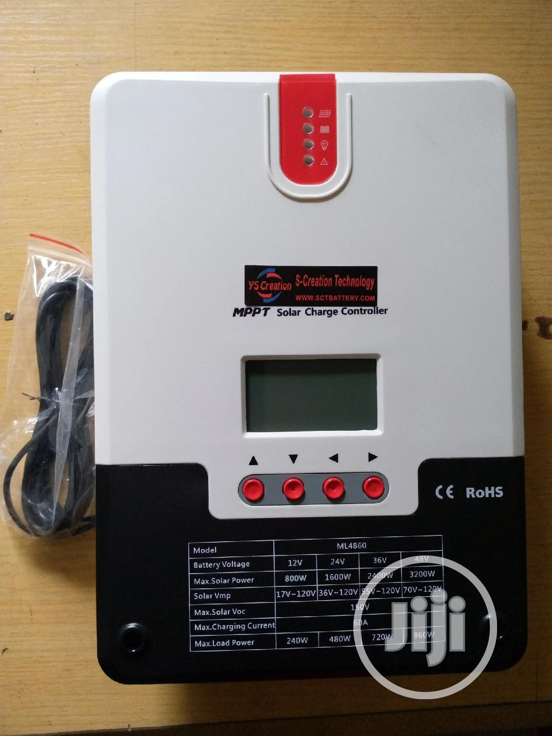 12/24/48v 60A MPPT Solar Charge Controller | Solar Energy for sale in Port-Harcourt, Rivers State, Nigeria