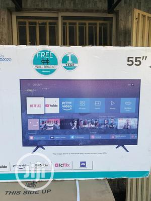 "Hisense 55"" 4K Smart UHD TV | TV & DVD Equipment for sale in Abuja (FCT) State, Wuse"