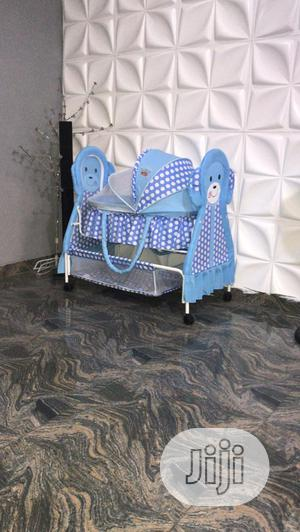 Baby Bed (Blue) | Children's Furniture for sale in Abuja (FCT) State, Kubwa