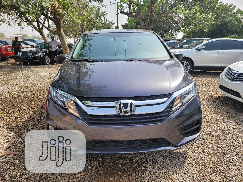 Honda Odyssey 2018 LX Gray
