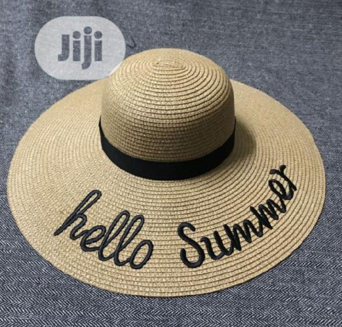 1ST Class Beach Hat
