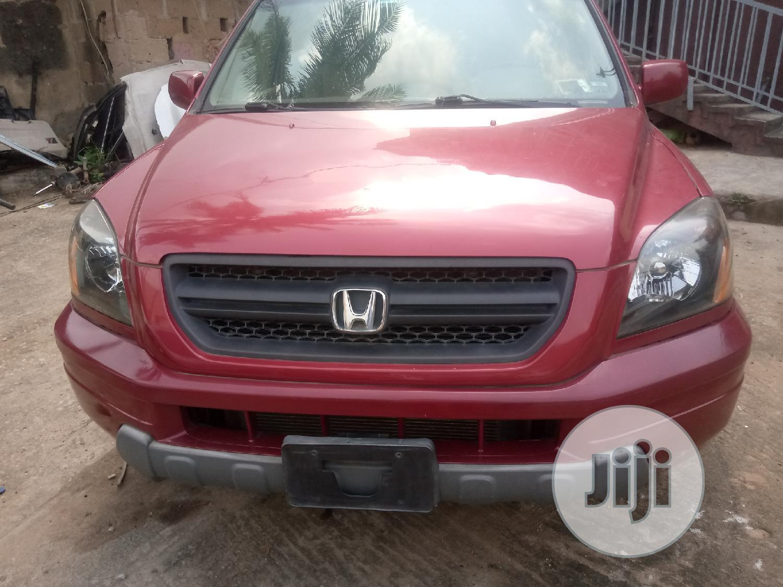 Honda Pilot 2004 EX 4x4 (3.5L 6cyl 5A) Red