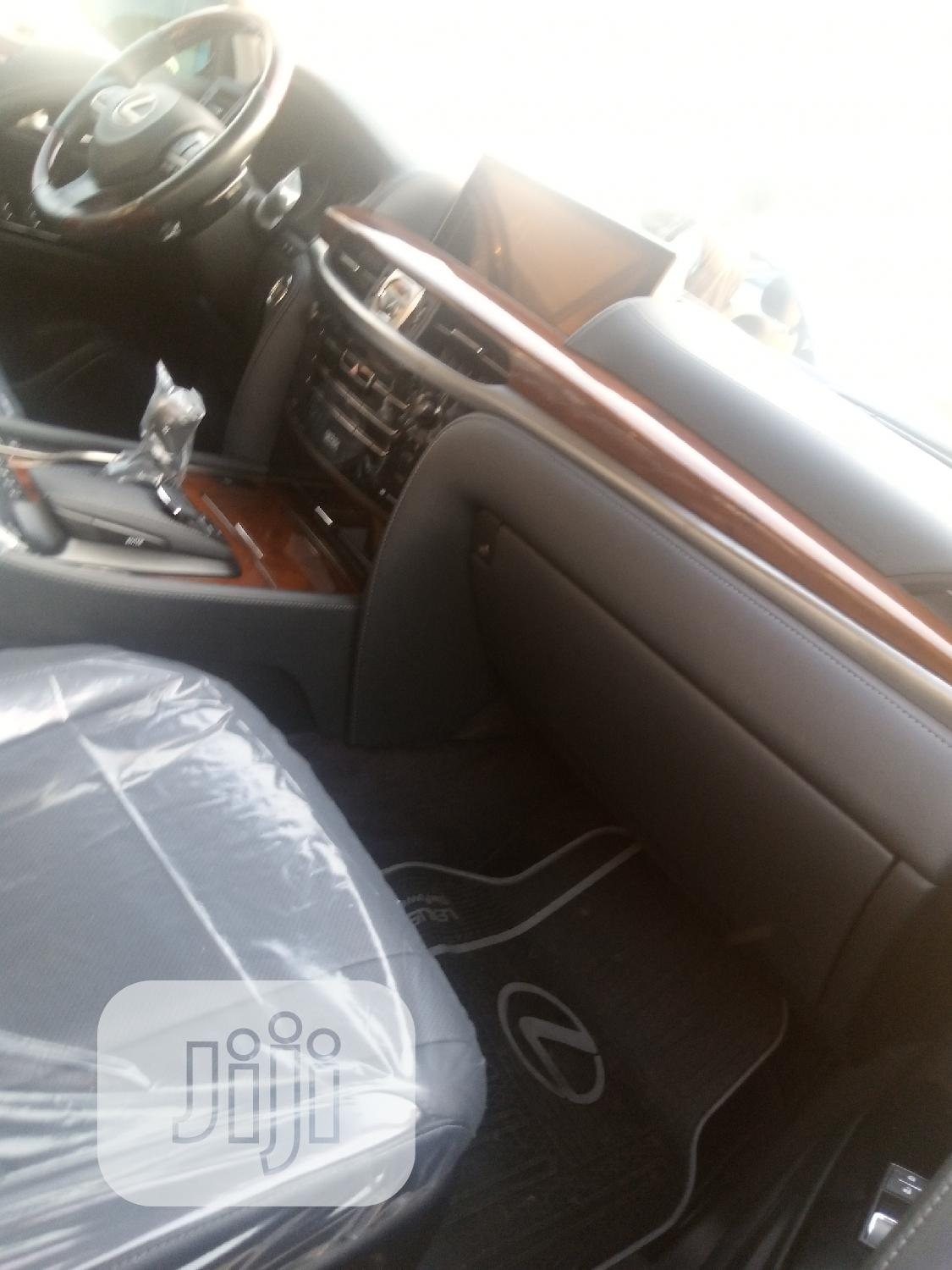 New Lexus LX 2018 570 Three-Row Gray | Cars for sale in Ikeja, Lagos State, Nigeria