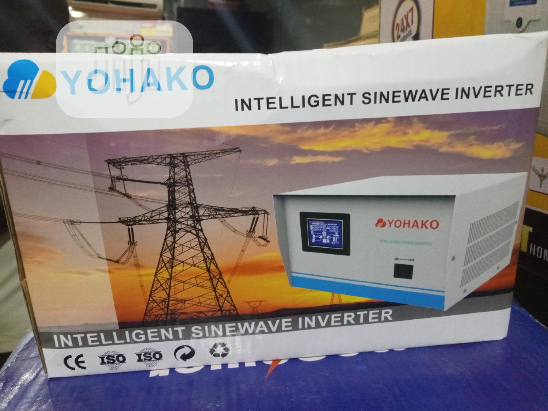12v1kva Pure Sine Wave Yohako Smart Inverter
