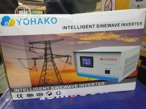 12v1kva Pure Sine Wave Yohako Smart Inverter   Solar Energy for sale in Lagos State, Ikeja