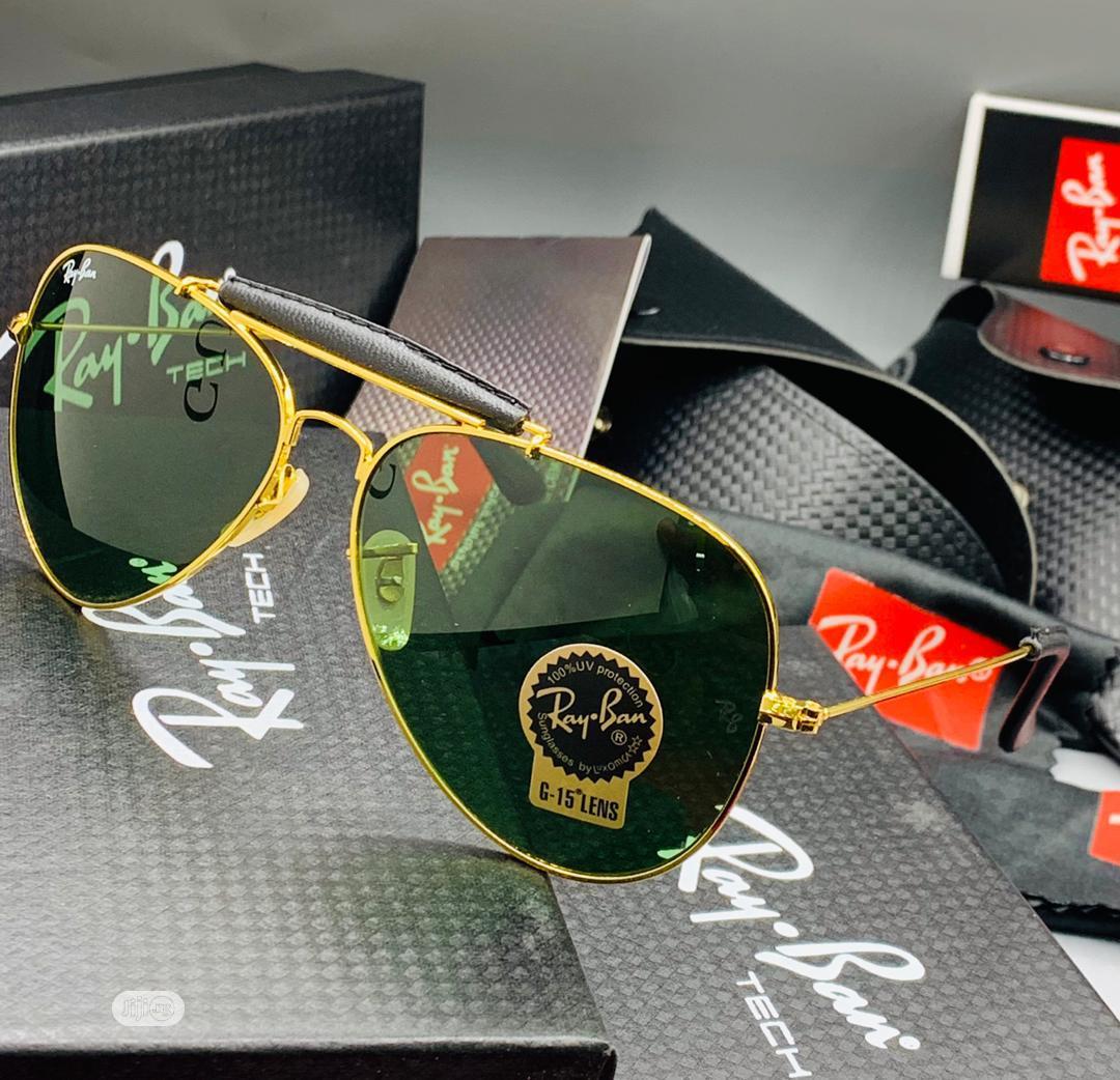 Ray-Ban (ORIGINAL) Men Shades Glasses