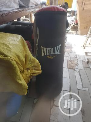 Big Punching Bag, BLACK | Sports Equipment for sale in Lagos State, Victoria Island