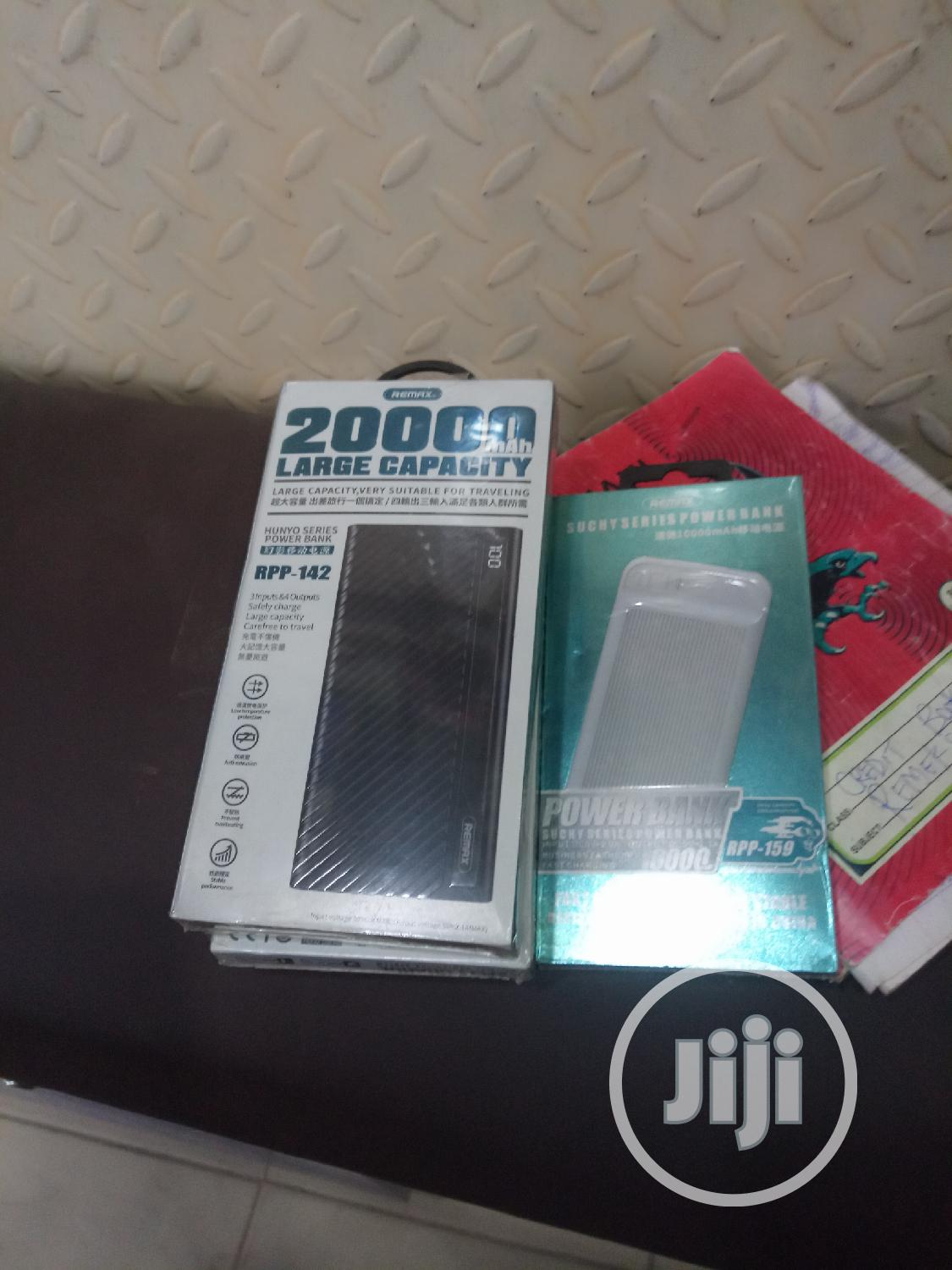10000mah Remaxpower Bank | Accessories for Mobile Phones & Tablets for sale in Wuse, Abuja (FCT) State, Nigeria