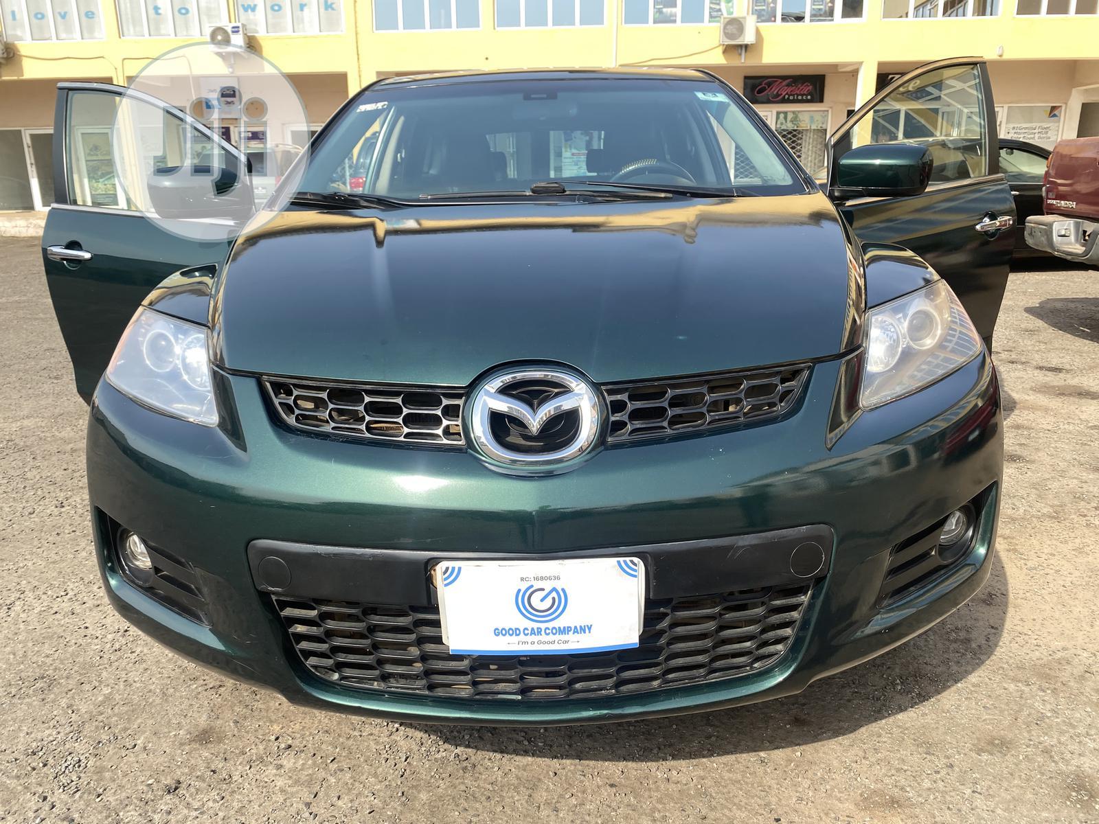 Mazda CX-7 2006 Green