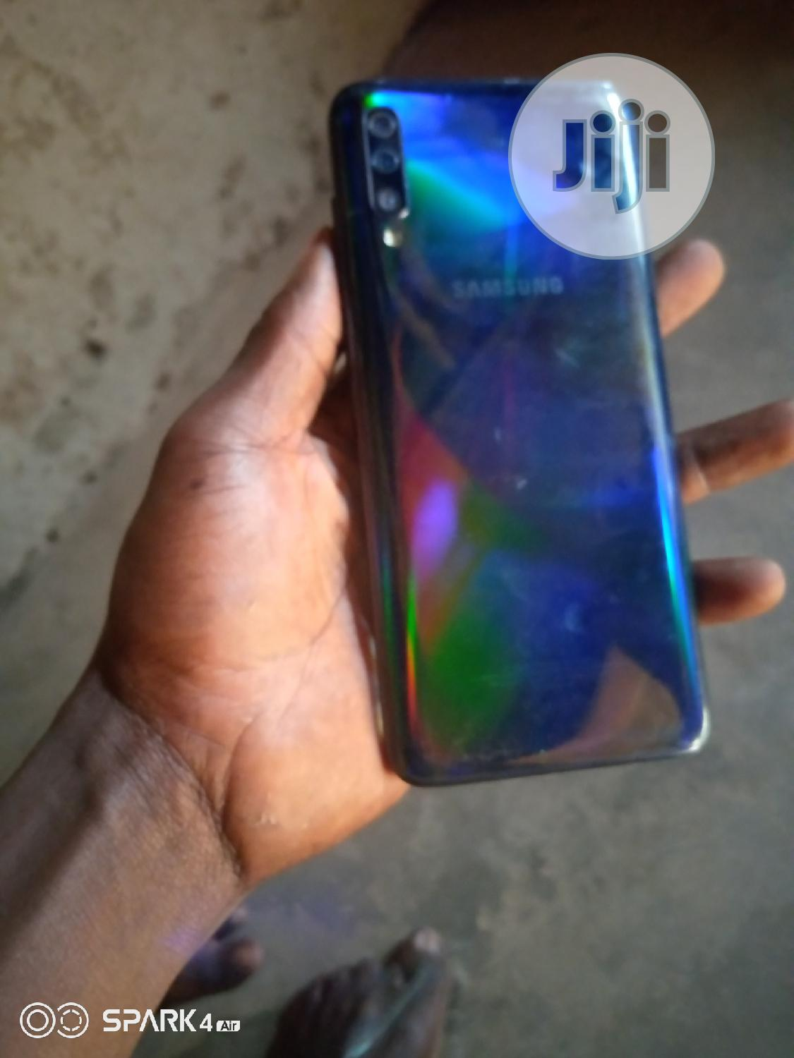 Samsung Galaxy A70 128 GB Blue   Mobile Phones for sale in Egbeda, Oyo State, Nigeria