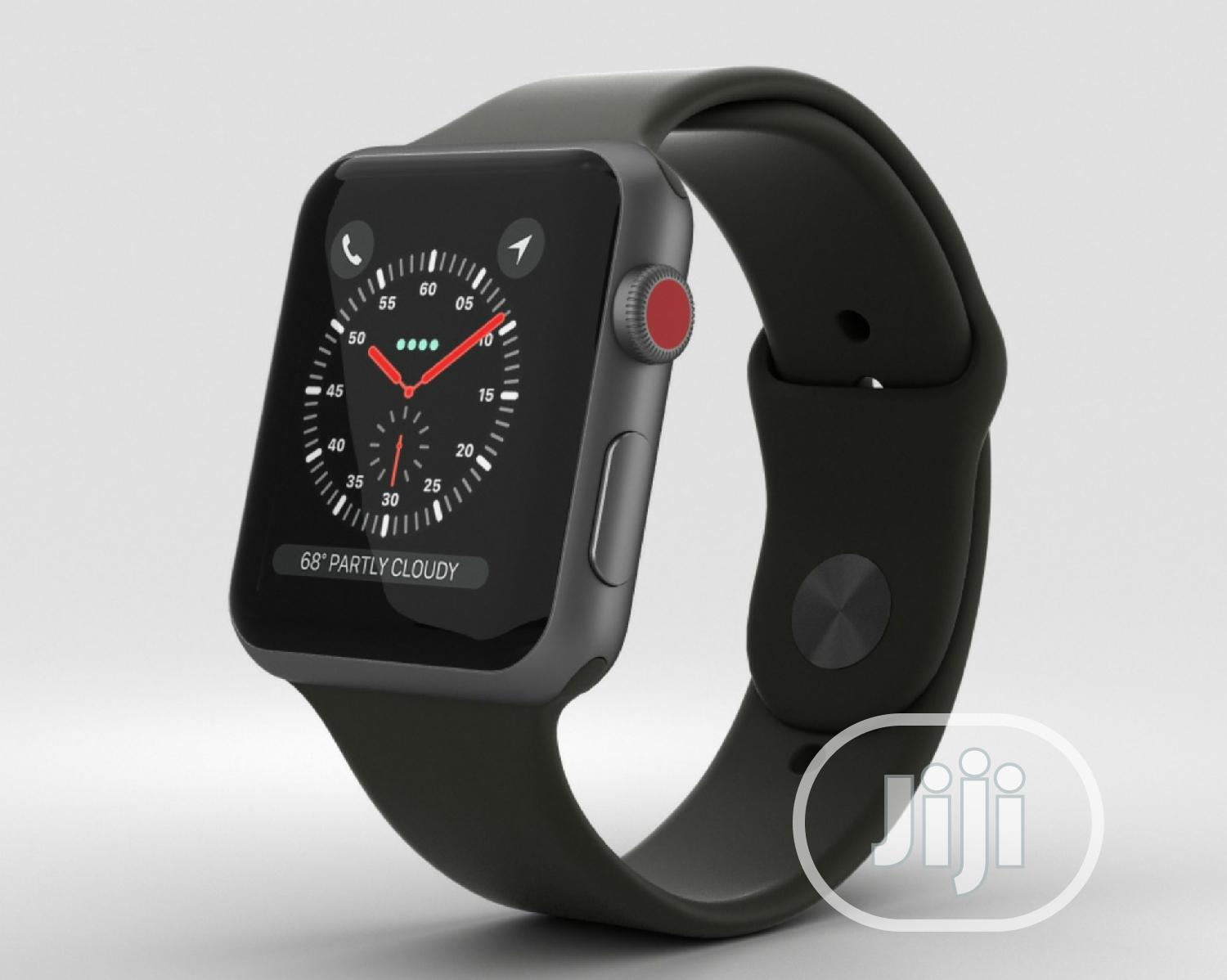 Apple Watch Series 3 (GPS + Cellular) With Black Sport Band