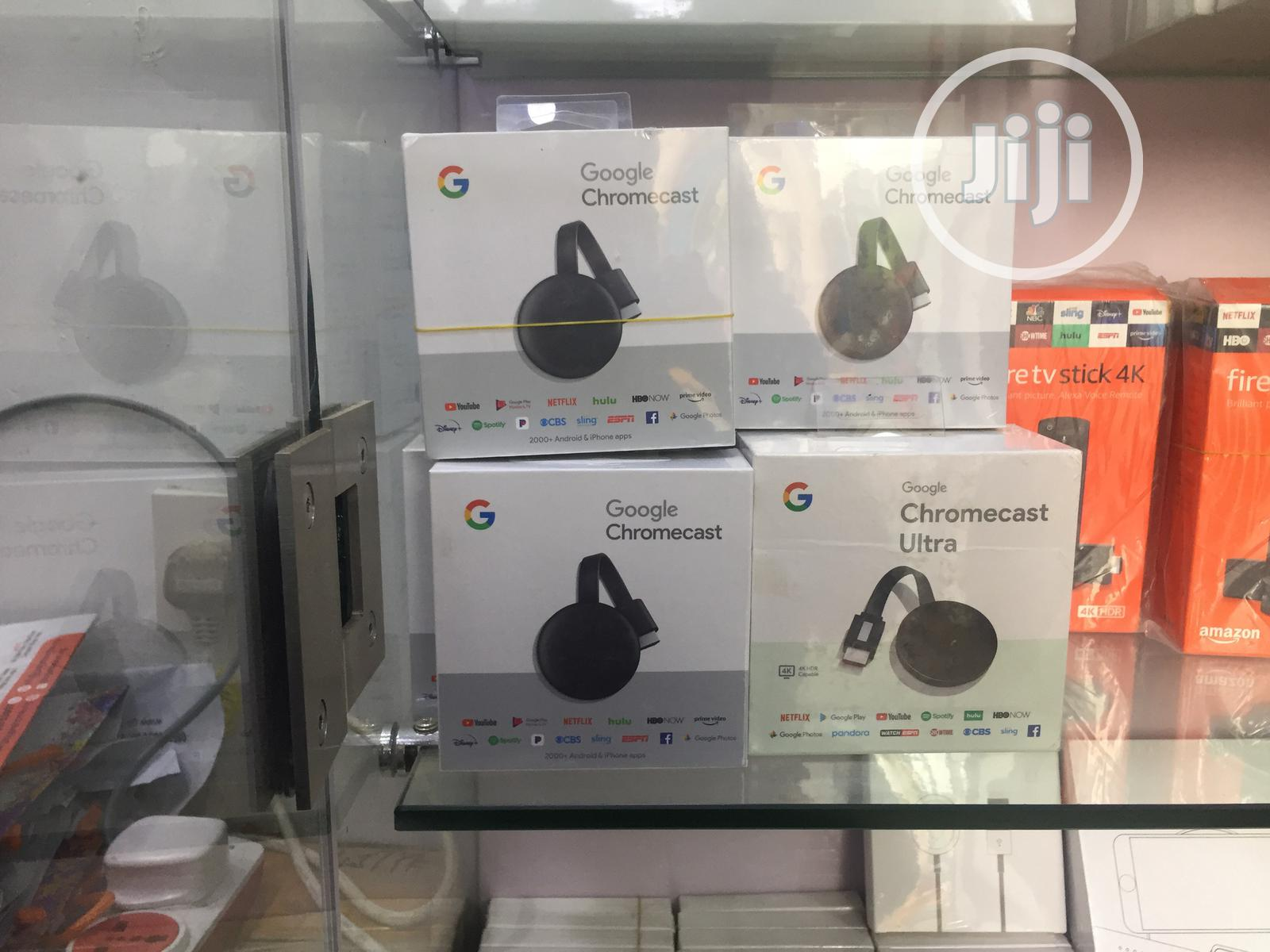 Google Chromecast | Accessories & Supplies for Electronics for sale in Ikeja, Lagos State, Nigeria