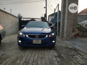 Honda Accord 2008 Coupe 3.5 EX-L Automatic Blue   Cars for sale in Lagos State, Lekki
