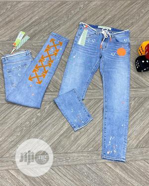 Original Off White Jeans Design   Clothing for sale in Lagos State, Lagos Island (Eko)