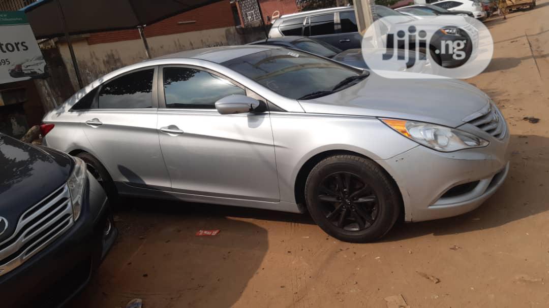 Hyundai Sonata 2014 Silver | Cars for sale in Alimosho, Lagos State, Nigeria