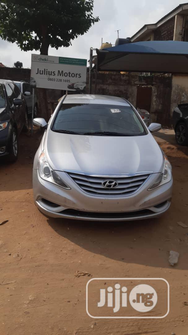 Hyundai Sonata 2014 Silver