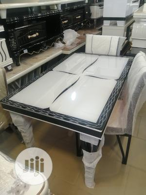 Quality Portable Glass Dining Table by Four Seater   Furniture for sale in Lagos State, Lekki