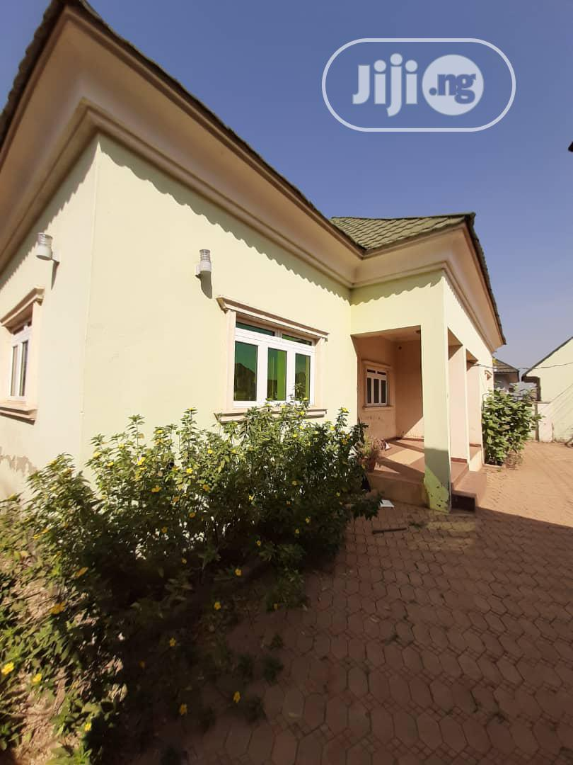 Well Built 3bedroom Bungalow With 2bedroom Bungalow BQ | Houses & Apartments For Sale for sale in Apo District, Abuja (FCT) State, Nigeria