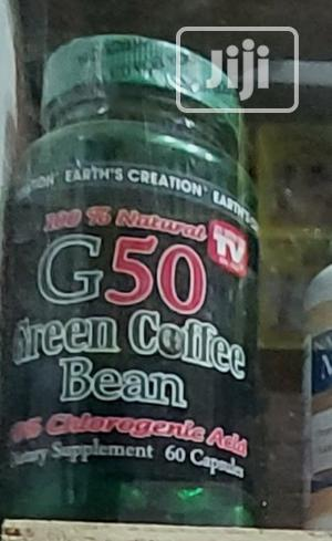 Earth Creation Green Coffee Bean Extract (60 Tablet | Vitamins & Supplements for sale in Lagos State, Ikeja