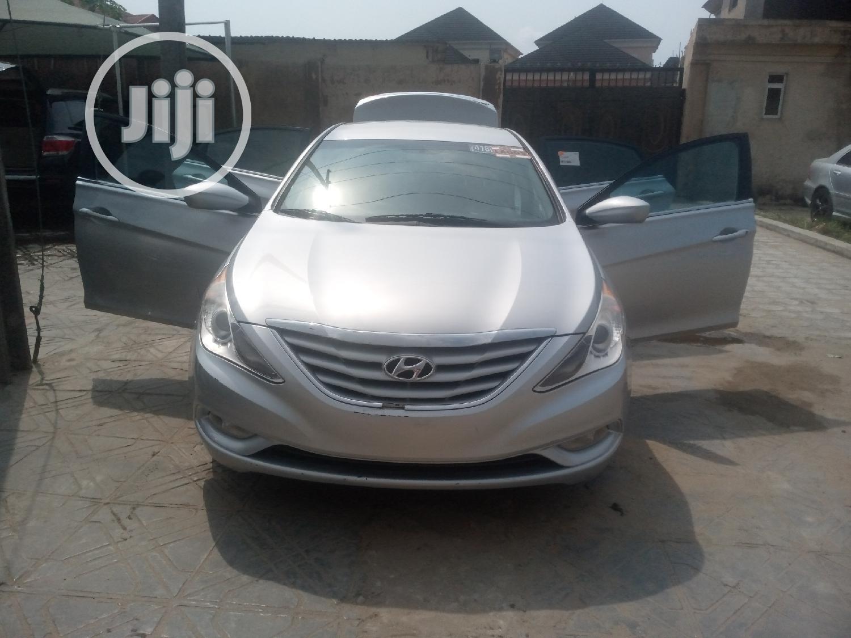 Hyundai Sonata 2013 Silver