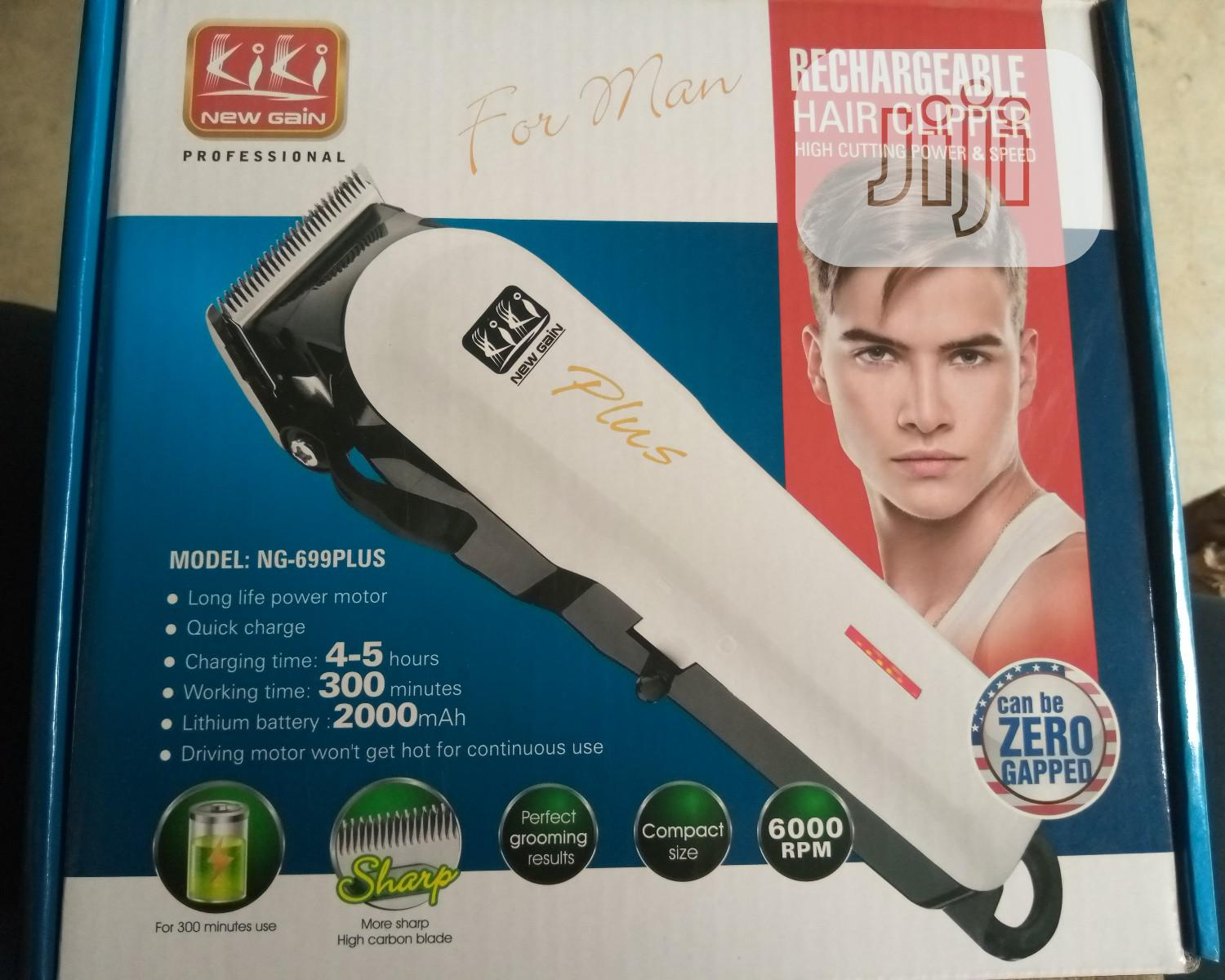 Archive: Kiki Rechargeable Clipper. Ng-699plus