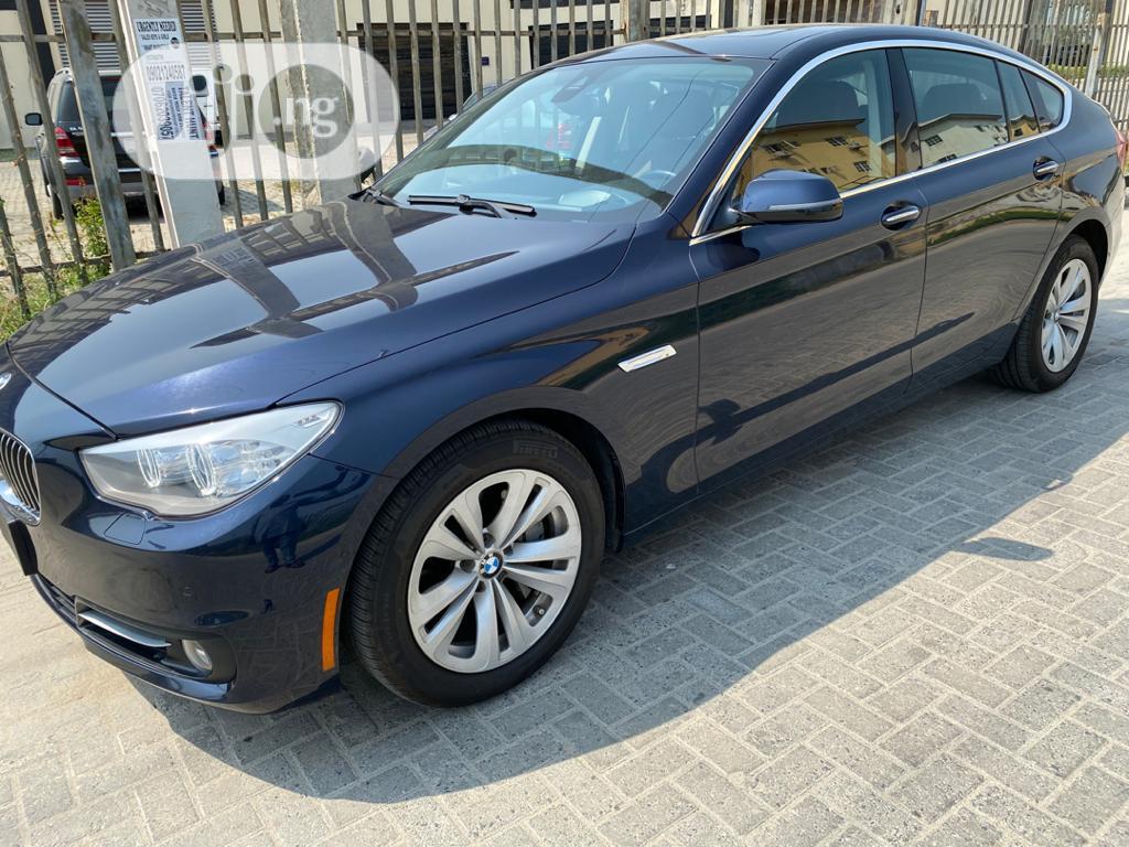 BMW 535i 2017 Blue