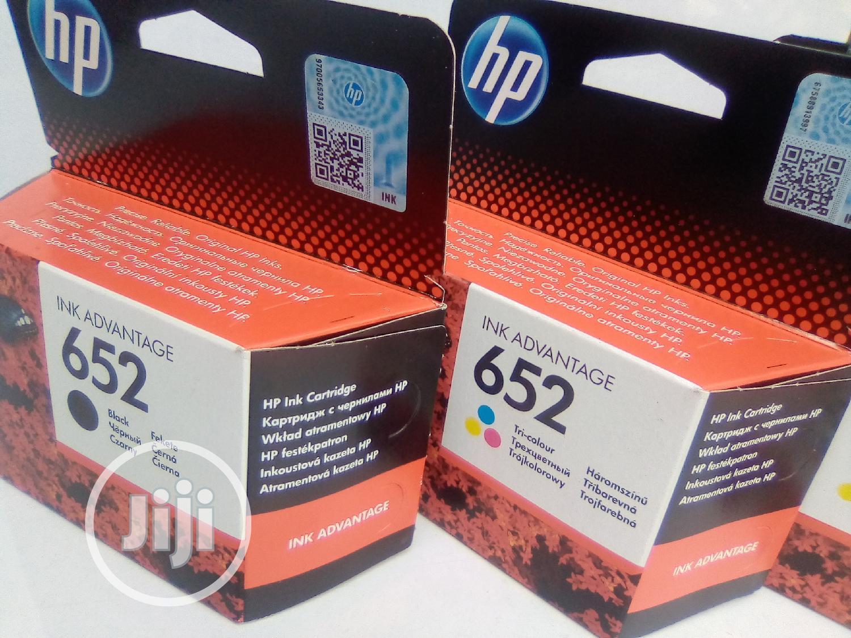 Original HP 652 Ink