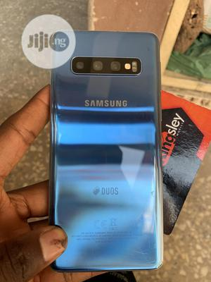 Samsung Galaxy S10 128 GB Blue   Mobile Phones for sale in Abuja (FCT) State, Wuse 2