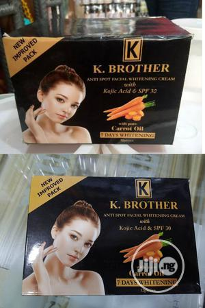 K.Brothers Anti Spot Facial Whitening Cream. Pack Of 12 | Skin Care for sale in Lagos State, Apapa