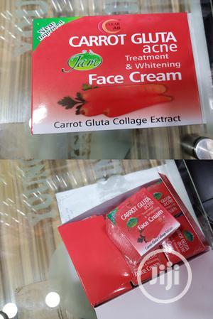 Jam Carrot Gluta Acne Treatment & Whitening Face Cream 12pcs | Skin Care for sale in Lagos State, Apapa