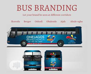 Bus Branding And Advert At Good Rate | Automotive Services for sale in Lagos State, Victoria Island