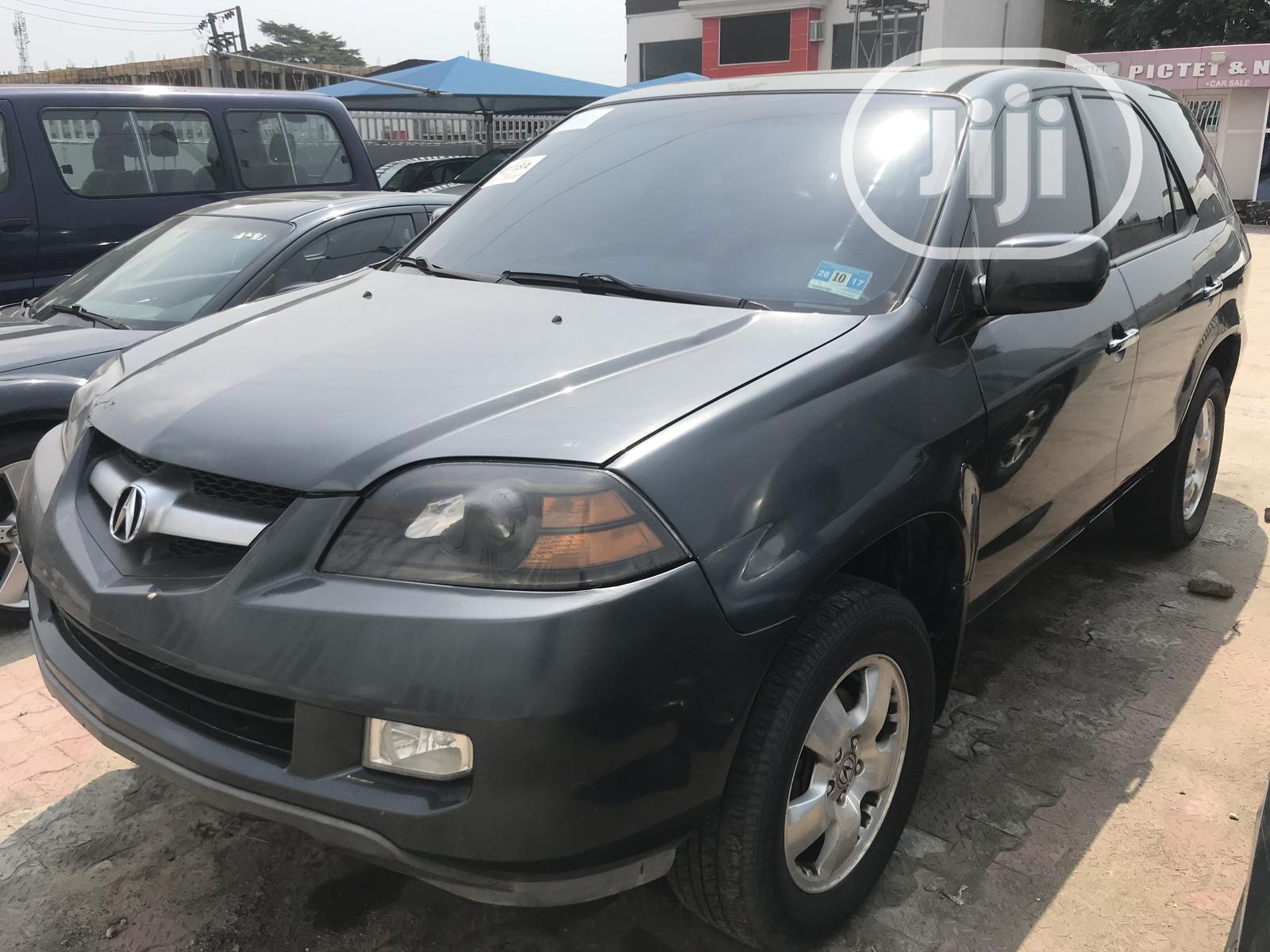 Archive: Acura MDX 2004 Touring Package Gray