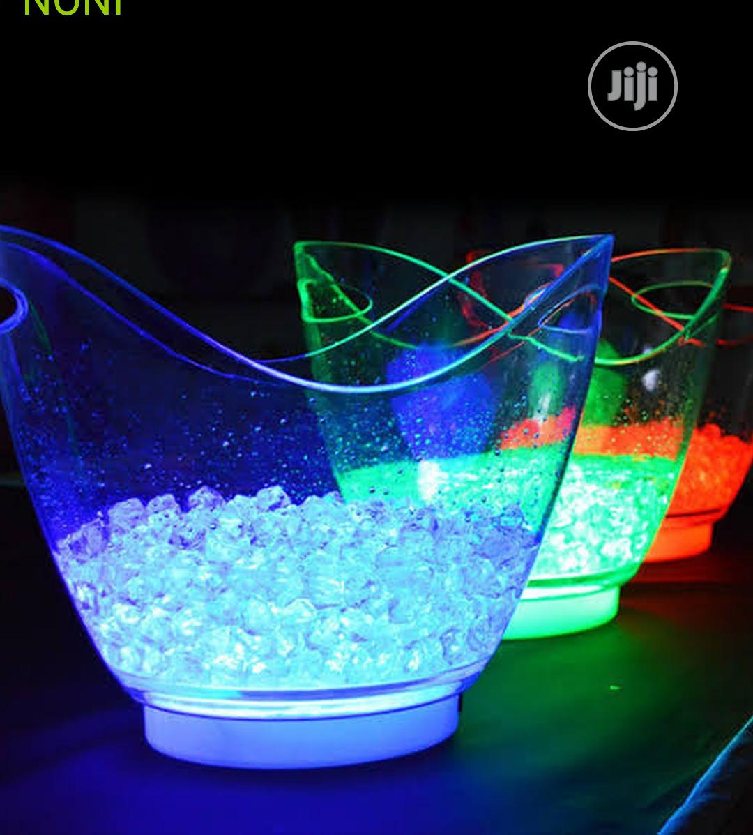 Champagne Led Light Bucket