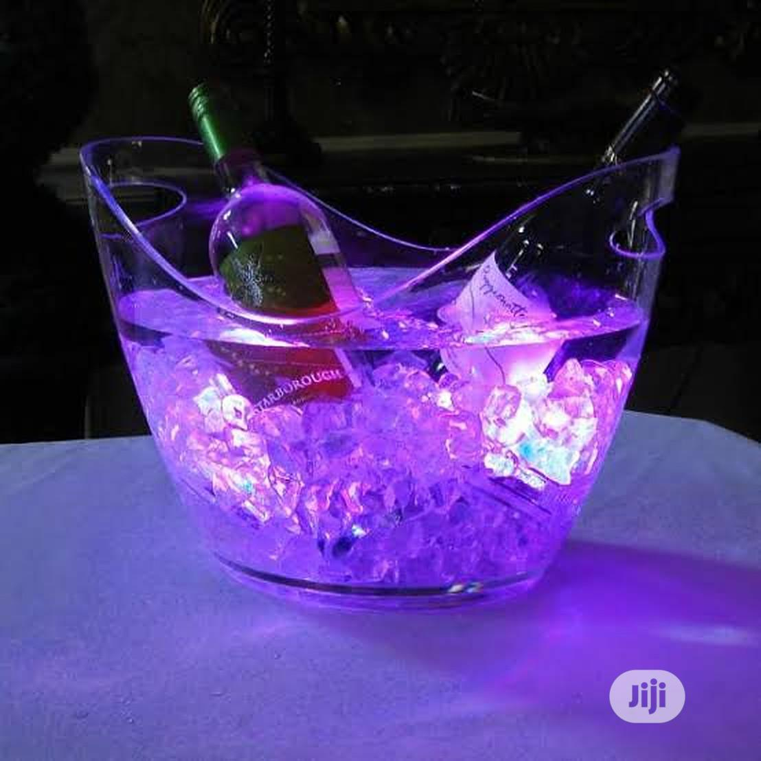 Champagne Led Light Bucket   Kitchen & Dining for sale in Lekki, Lagos State, Nigeria