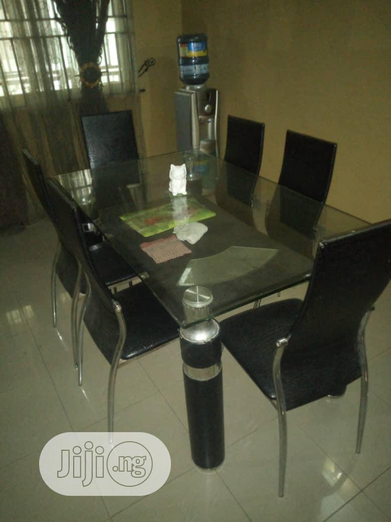 6 Used Dining Chairs In Isolo Furniture Sabbesst Autos Ltd Jiji Ng