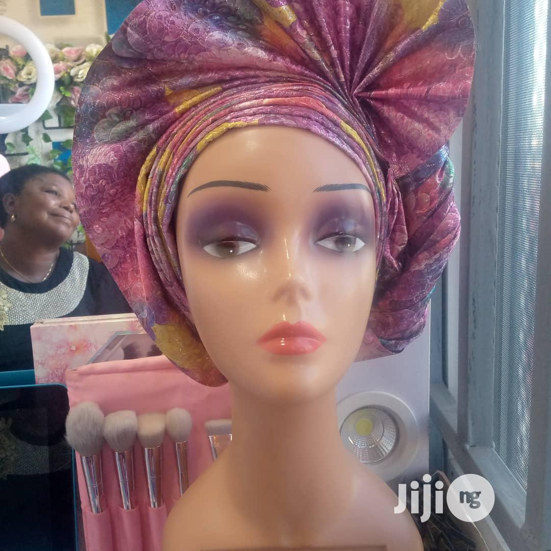 Archive: Gele Tying (Home Service )