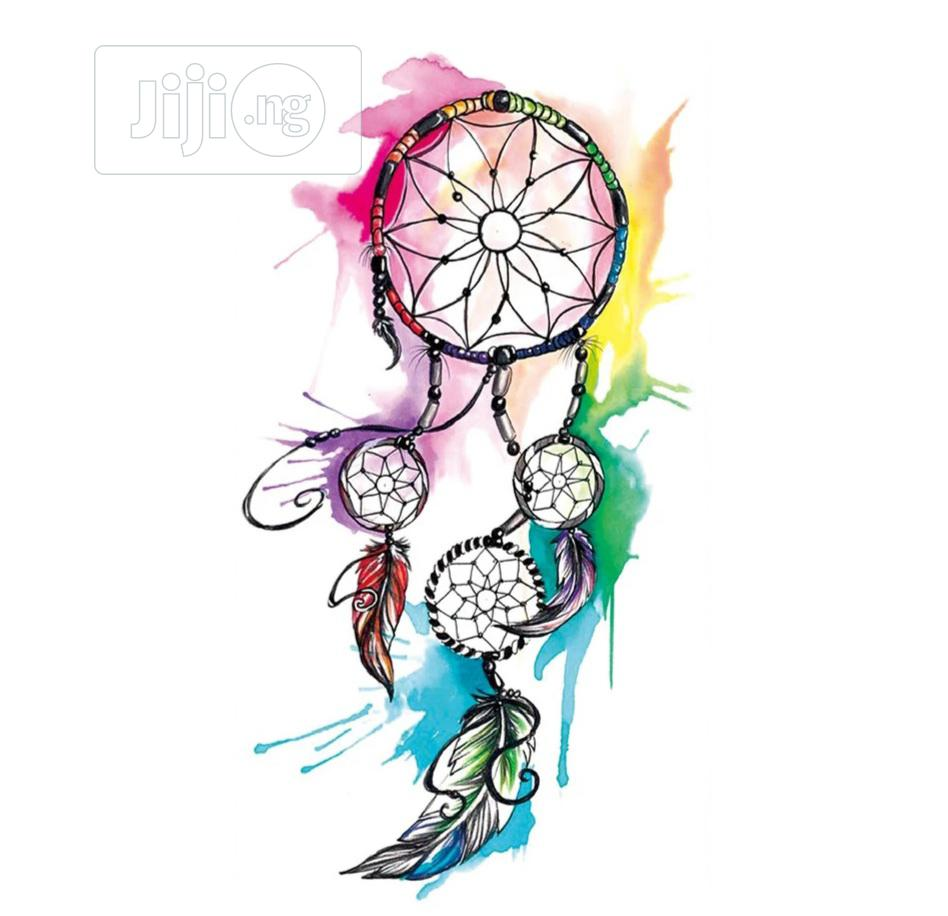 Indie Net Flower Temporary Tattoo Body Art Sticker | Tools & Accessories for sale in Ojodu, Lagos State, Nigeria