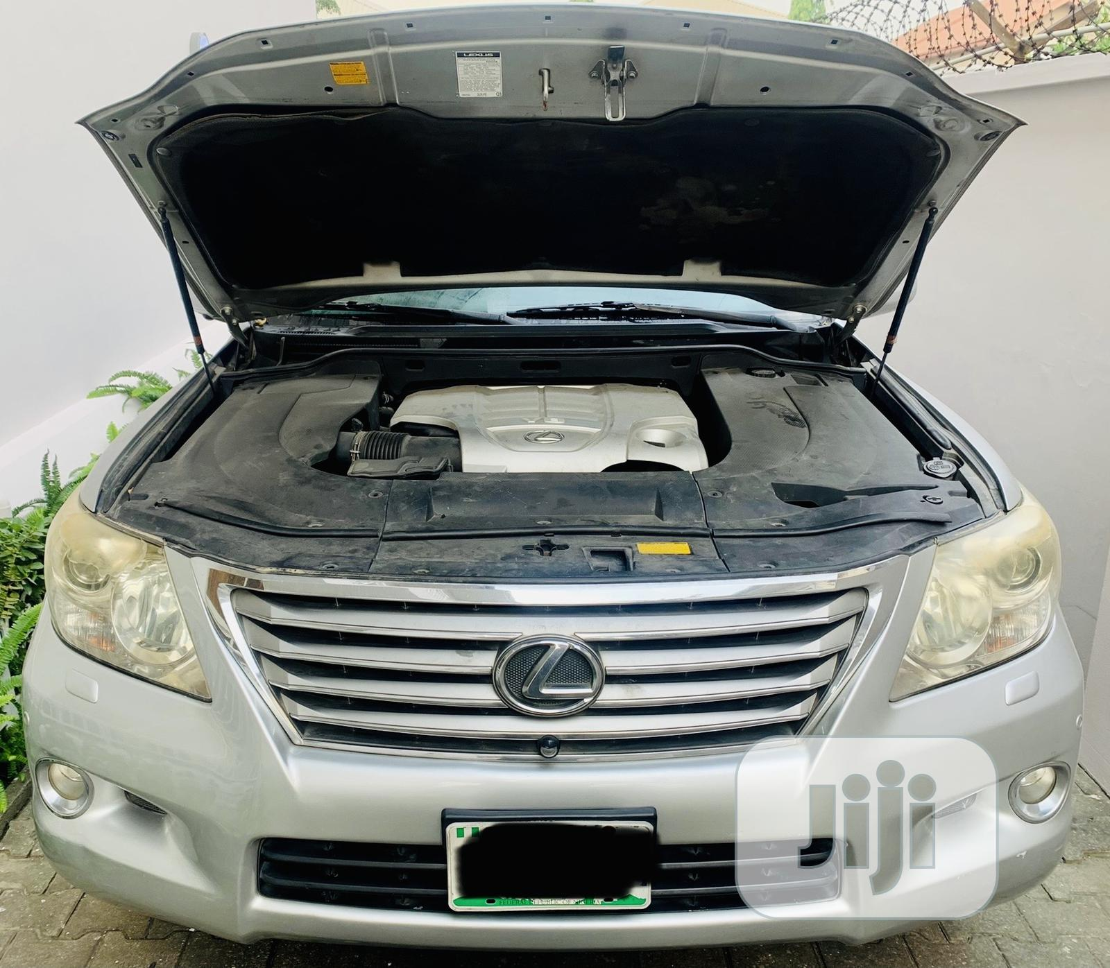 Lexus LX 2010 570 Silver | Cars for sale in Lekki, Lagos State, Nigeria