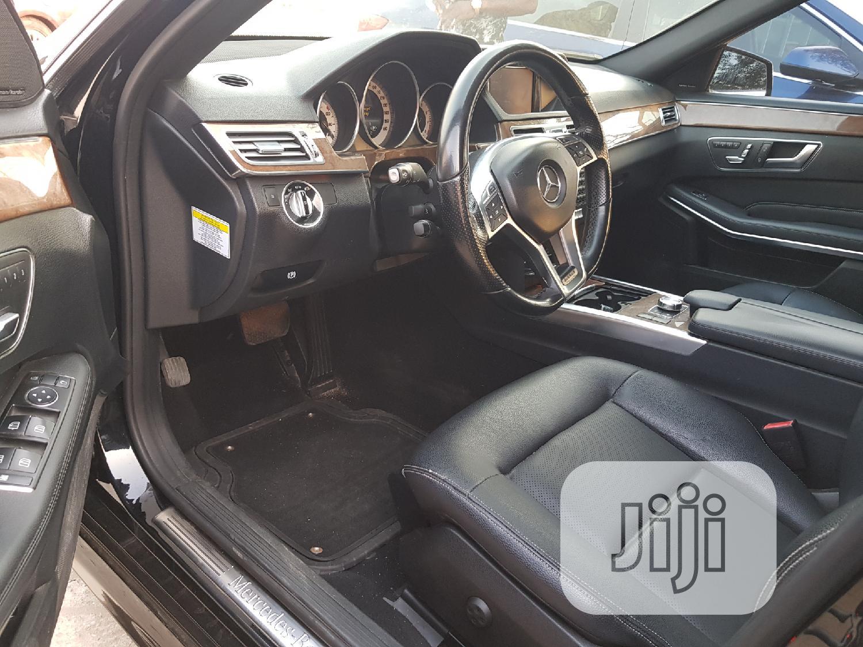 Mercedes-Benz E350 2014 Black | Cars for sale in Ifako-Ijaiye, Lagos State, Nigeria