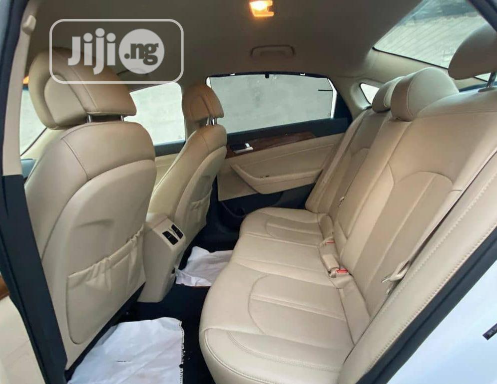 Hyundai Sonata 2015 White | Cars for sale in Ikeja, Lagos State, Nigeria