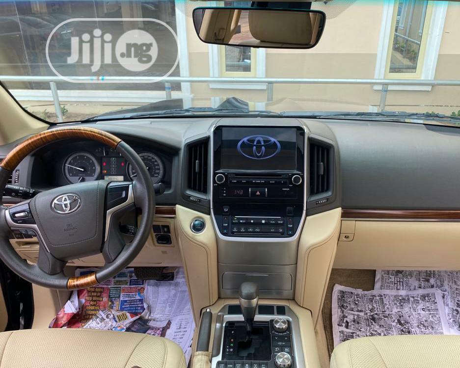 Toyota Land Cruiser 2016 4.6 V8 VXR Black   Cars for sale in Ibadan, Oyo State, Nigeria