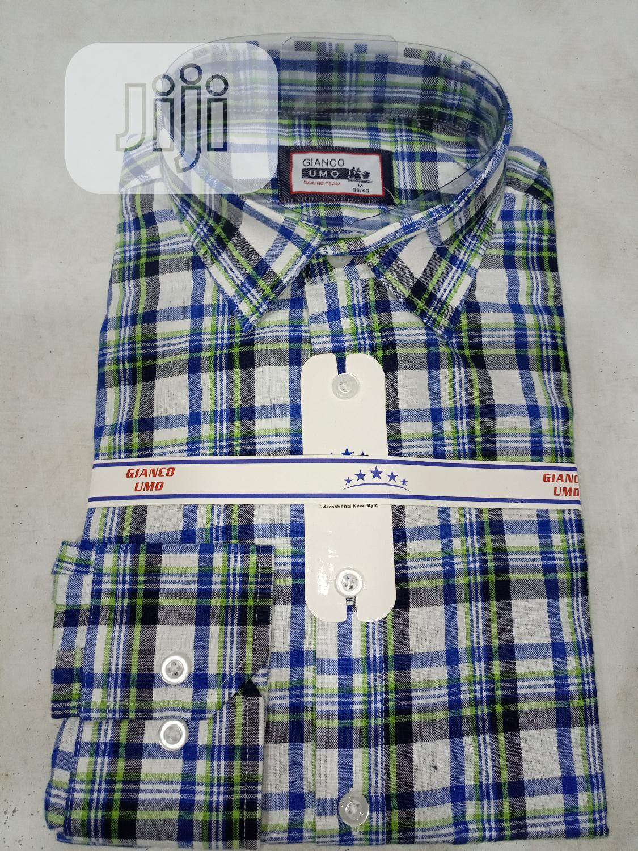 Quality Check Long Sleeve Men Shirt. | Clothing for sale in Lagos Island (Eko), Lagos State, Nigeria