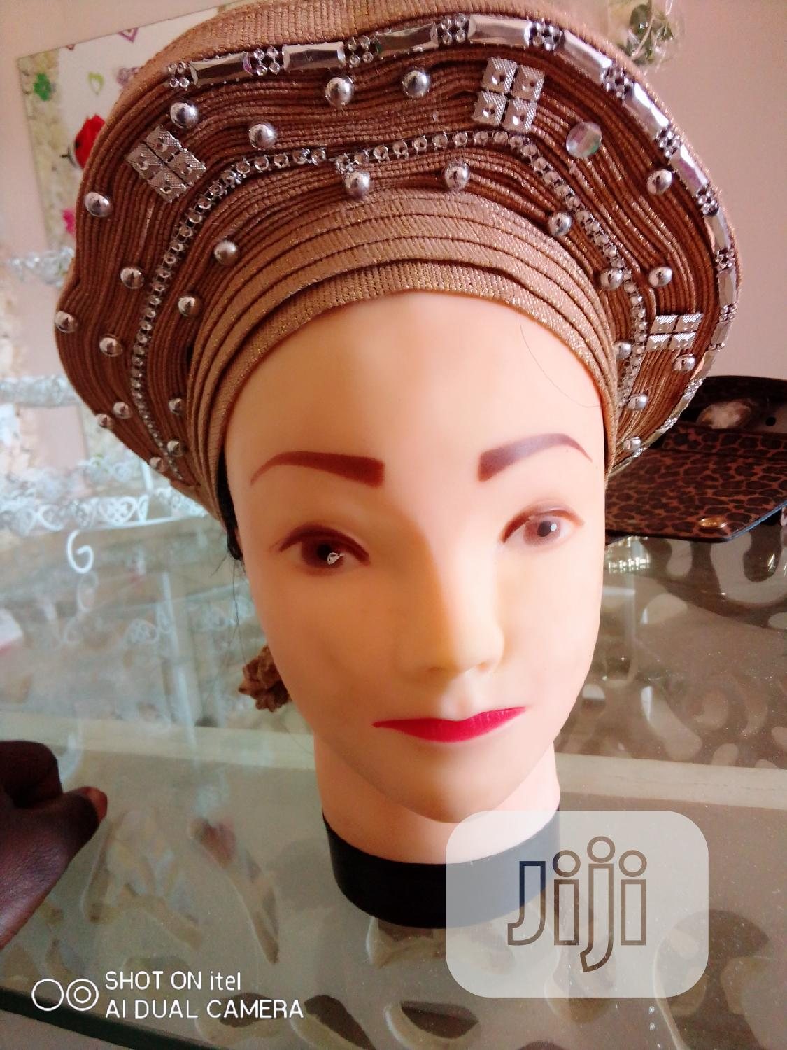 Already Made Gele   Clothing Accessories for sale in Mpape, Abuja (FCT) State, Nigeria
