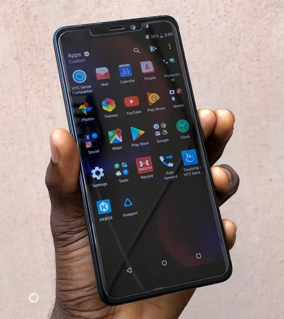 HTC U11 Eyes 64 GB Black | Mobile Phones for sale in Ikeja, Lagos State, Nigeria