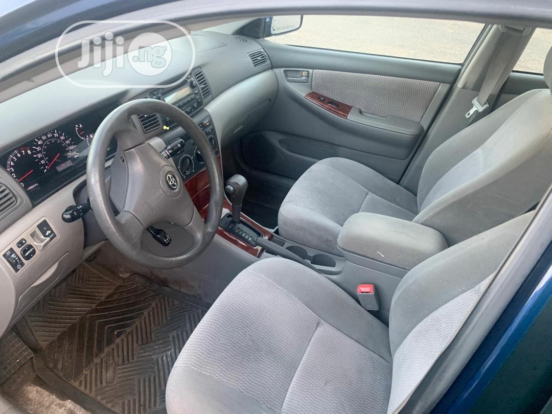 Archive: Toyota Corolla 2008 1.8 LE Blue