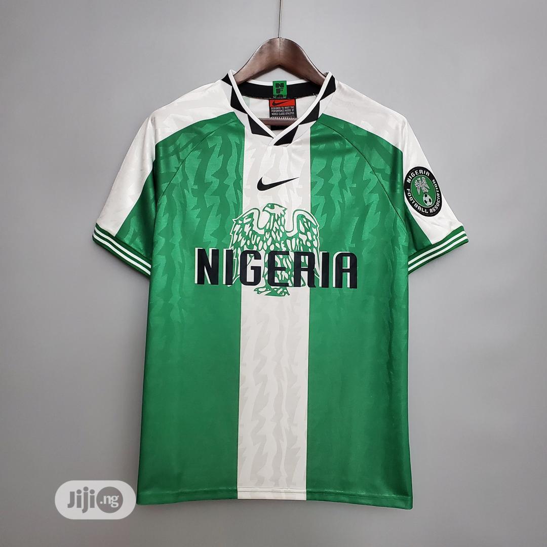 Archive: Nigerian Retro/Old Jersey